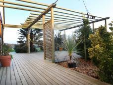 Terrasses en pin traité